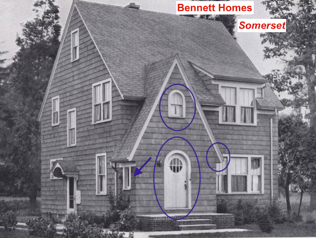 1932 catalog image of Bennett Homes Somerset