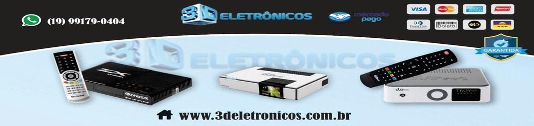 3D Eletrônicos