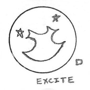 Excite Icon Drawing