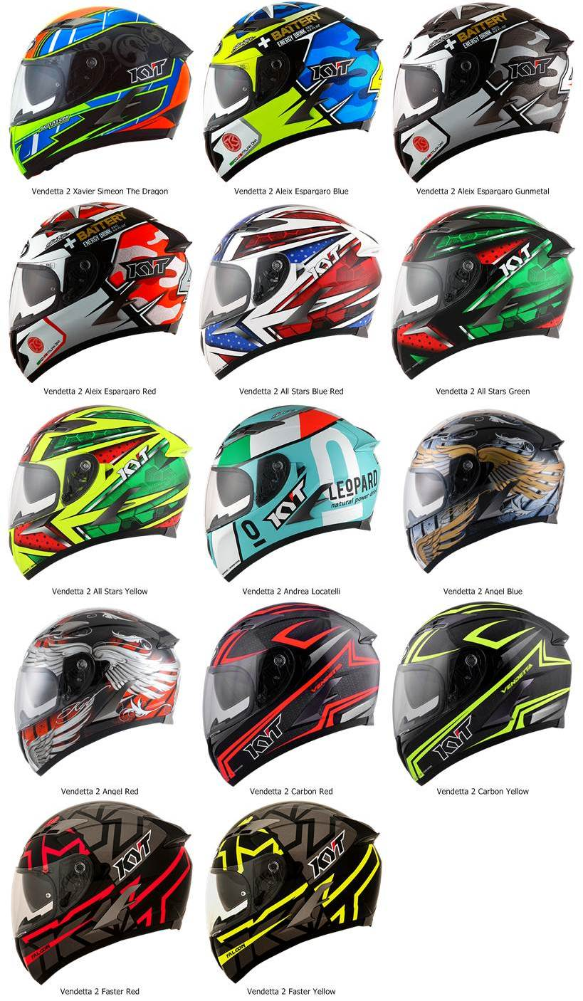 vendetta 2 full face helmet