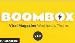 Boombox v1.9.0.1 Magazine Wordpress Theme