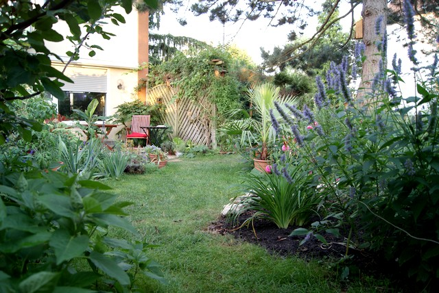 filz und garten gartenblog garten im august. Black Bedroom Furniture Sets. Home Design Ideas