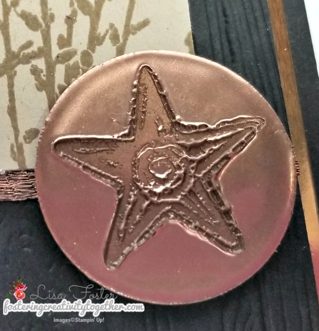 country road, special celebrations, faux metal embellishment, embossing