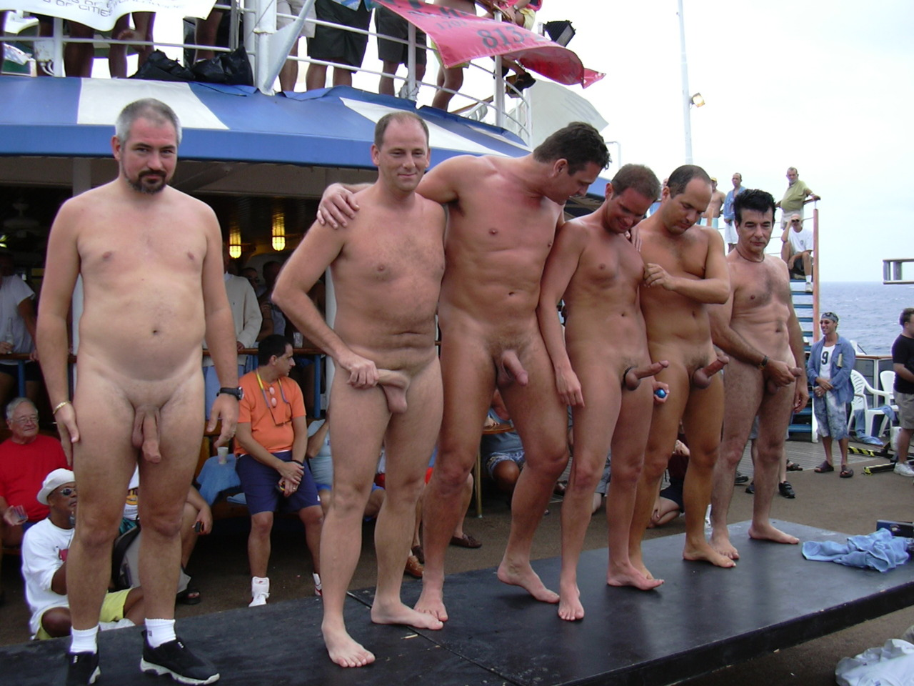 Are Amature male nude pageant