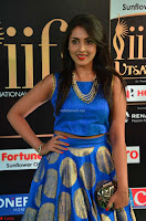 Madhu Shalini Looks Super Cute Slim trim Blue Choli Ghagra IIFA Utsavam Awards 012.JPG