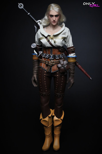 osw.zone OnlyGirl 1/6 Witch 12 Inch Action Figure: Ciri, adopted daughter of Geralt from Witcher 3