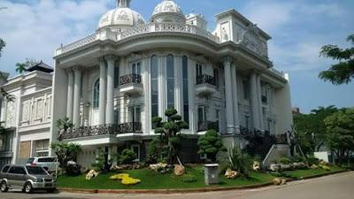 Desain Tukang Taman rumah mewah