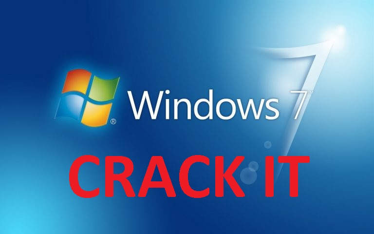 how to  crack for windows 7