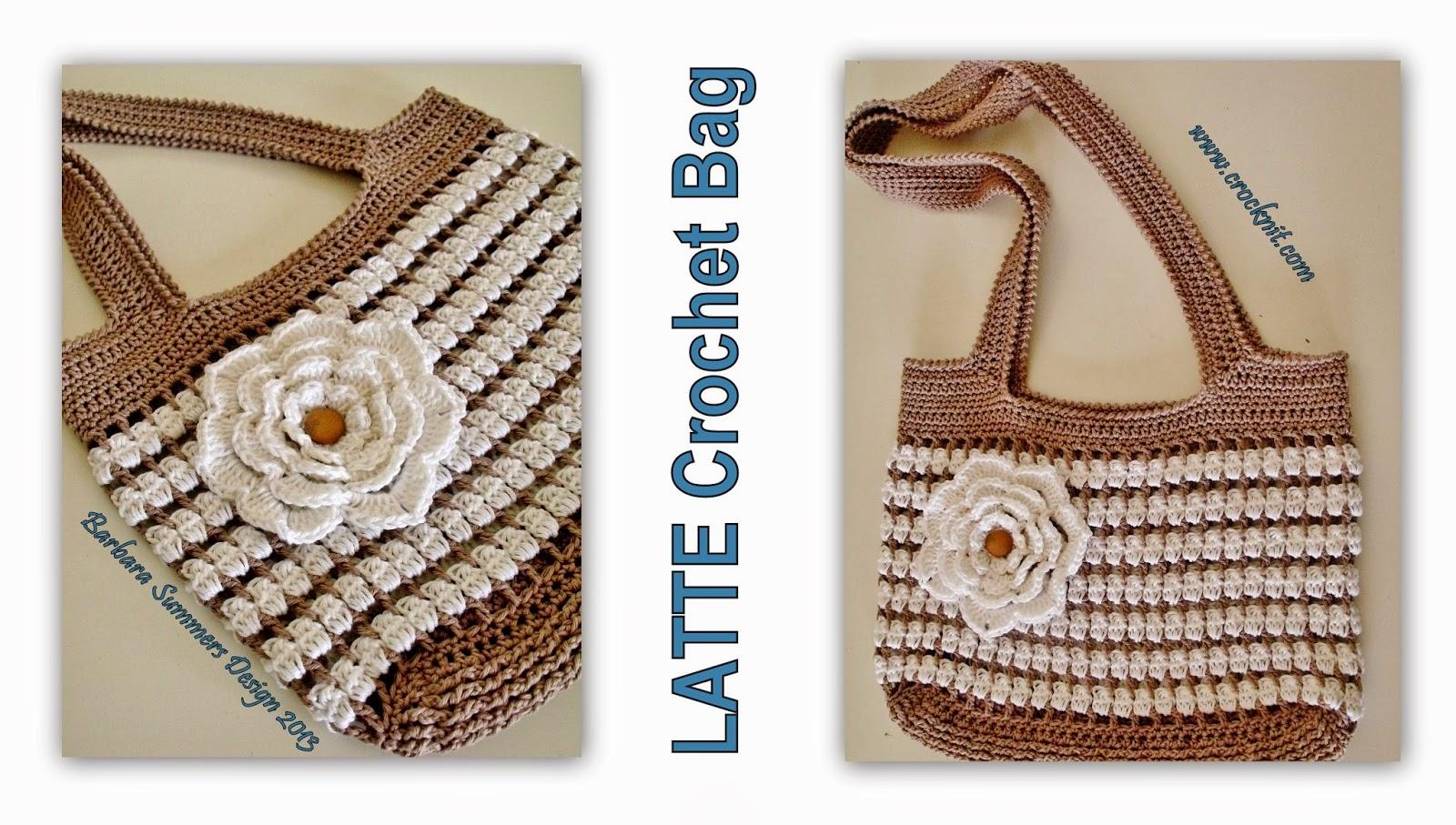 crochet patterns, bags, summer bags, how to crochet,
