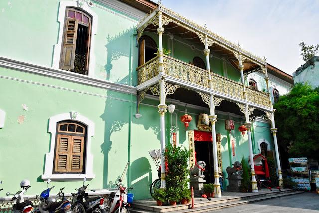 Nhà cổ Pinang Peranakan Masion