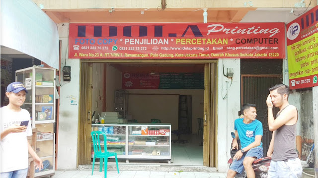 Fotocopy Murah Rawamangun