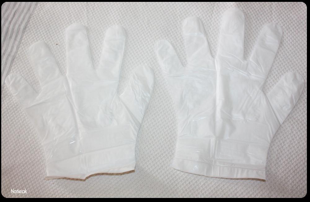aspect du masque Masque Wrap Hydra-repair mains de Qiriness