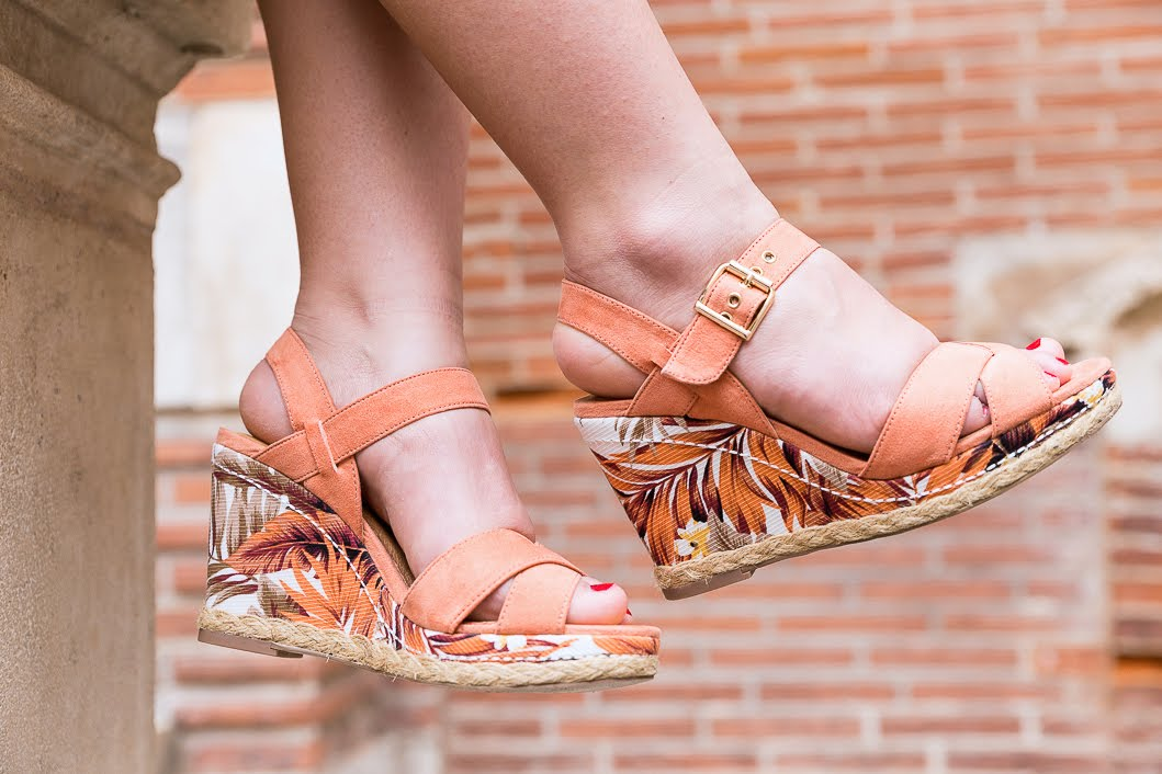 Sandales compensées Eram