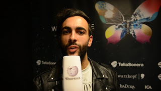 Marco Mengoni in a presentation video for his hit single and Eurovision Song Contest entry, L'essenziale