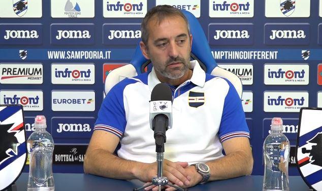 Conferenza stampa Giampaolo Inter Samp: