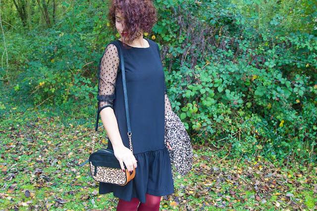 robe - noire - plumetis - anne - durrieu