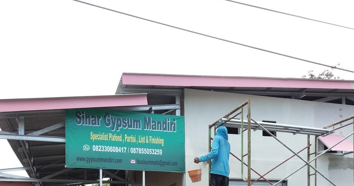 Tukang khusus plafon  Grc  dan Gypsum di Surabaya Gresik dan