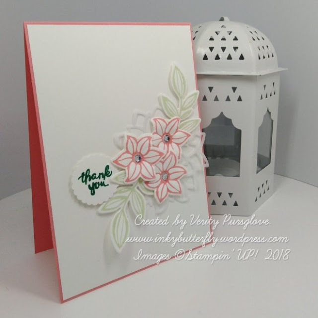 Falling Flowers stamp set from Stampin' Up!