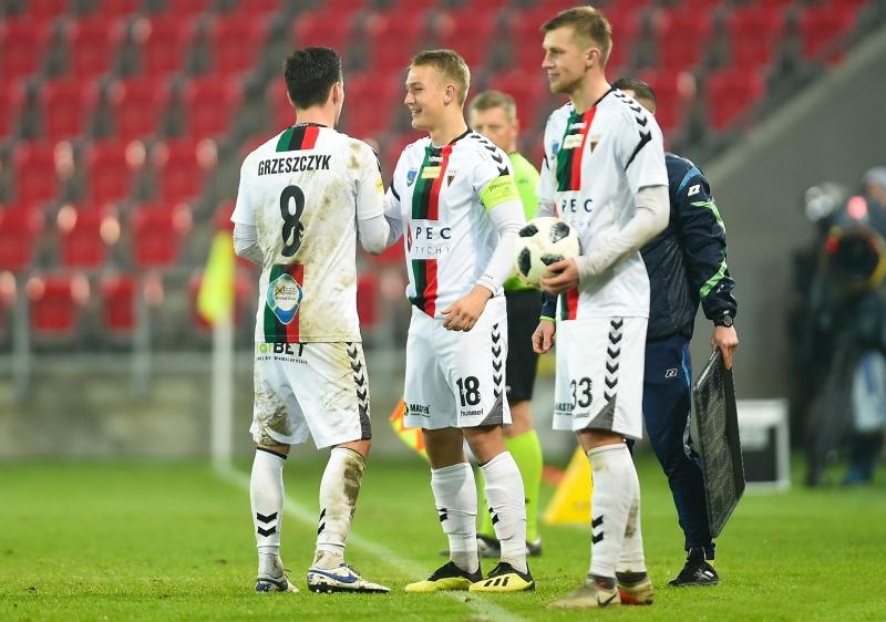 15-letni Jan Biegański kapitanem GKS-u Tychy<br><br>fot. Łukasz Sobala / gkstychy.info