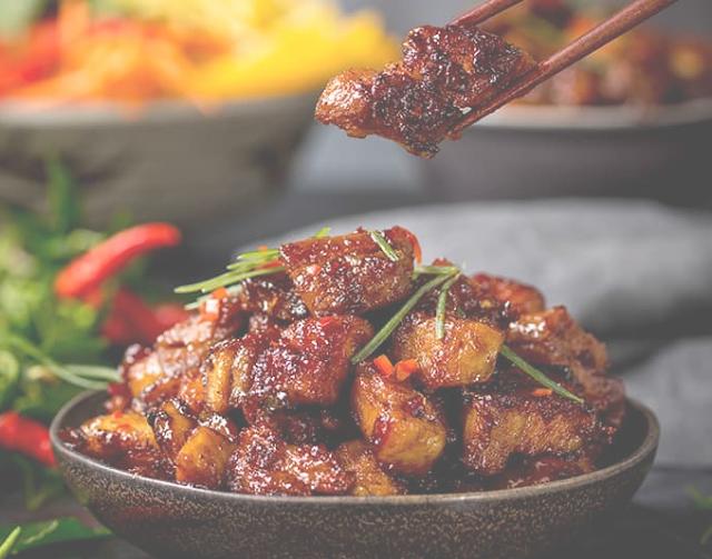 Sticky Chinese Pork Belly Recipe