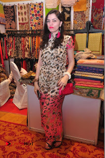 Bollywood Actress Sana Khan Launches Aakrithi Exibition  0259.JPG