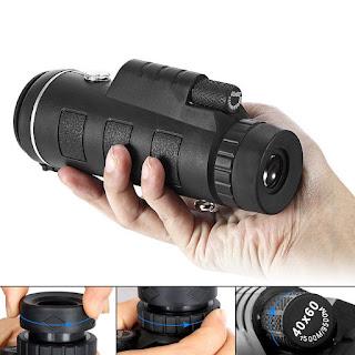 obiettivo zoom 40 x 60 ottico monoculare