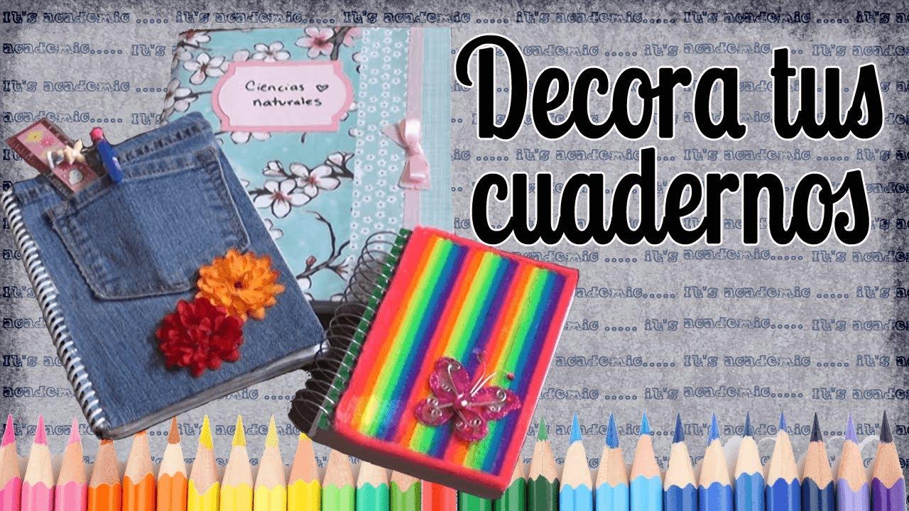 Caratulas para cuadernos dibujos para decorar cuadernos - Como decorar cuadernos ...