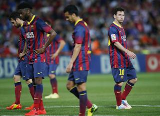 Klasemesn Liga Spanyol: Hasilny Barcelona Kalah Lagi, Bahaya !