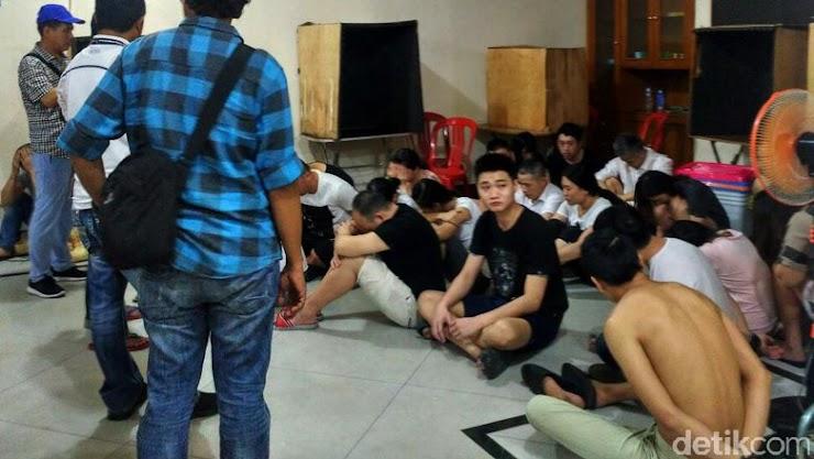 Penggerebekan Rumah di Bali, Hanya 6 Dari 27 WNA yang Menunjukkan Paspor