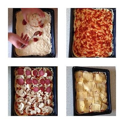 przepis na domowa pizze