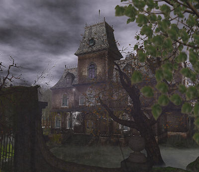 Halloween Haunted House in Second Life