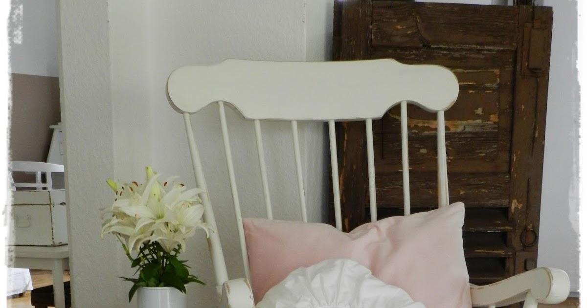 wei ein hauch ros schaukelstuhl tilda tasche. Black Bedroom Furniture Sets. Home Design Ideas
