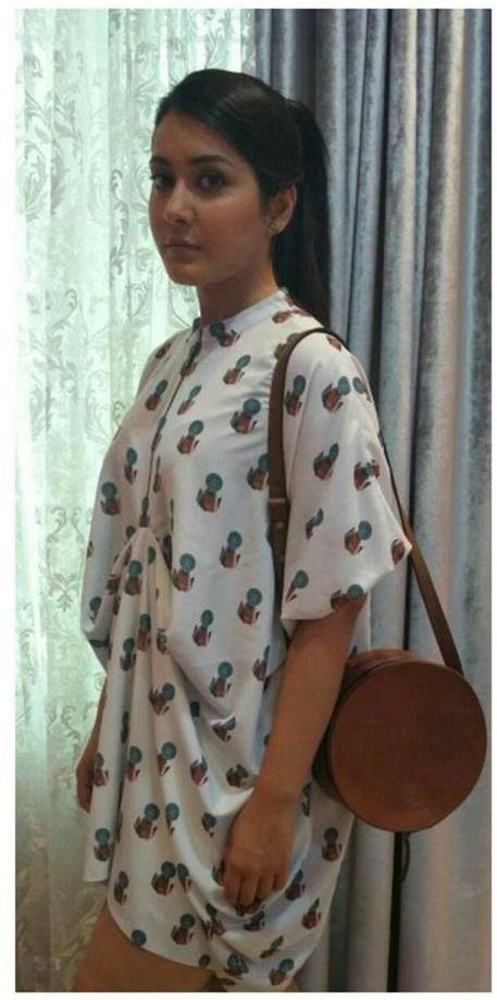 Rashi Khanna Gorgeous Photos In White Dress