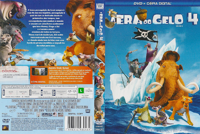 Capa DVD A ERA DO GELO 4
