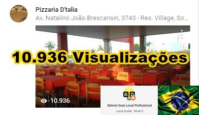 Pizzaria D'talia - Sorriso -MT