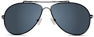 Aviator férfi napszemüveg