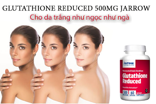 Glutathione Reduced 500mg jarrow