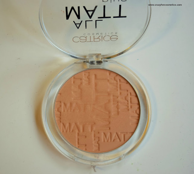 Catrice Cosmetics All Matte Plus Powder in 030 Warm Beige