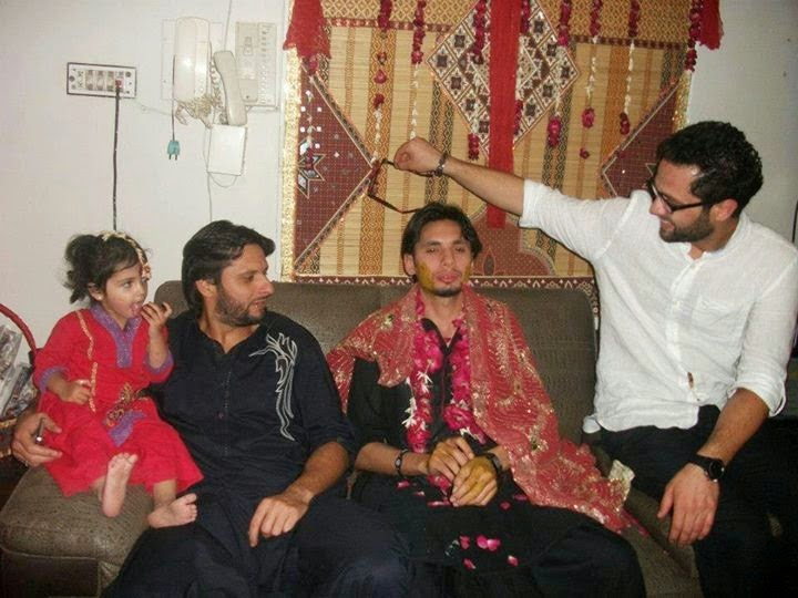 Shahid Afridi's Brother Wedding Unseen Pictures