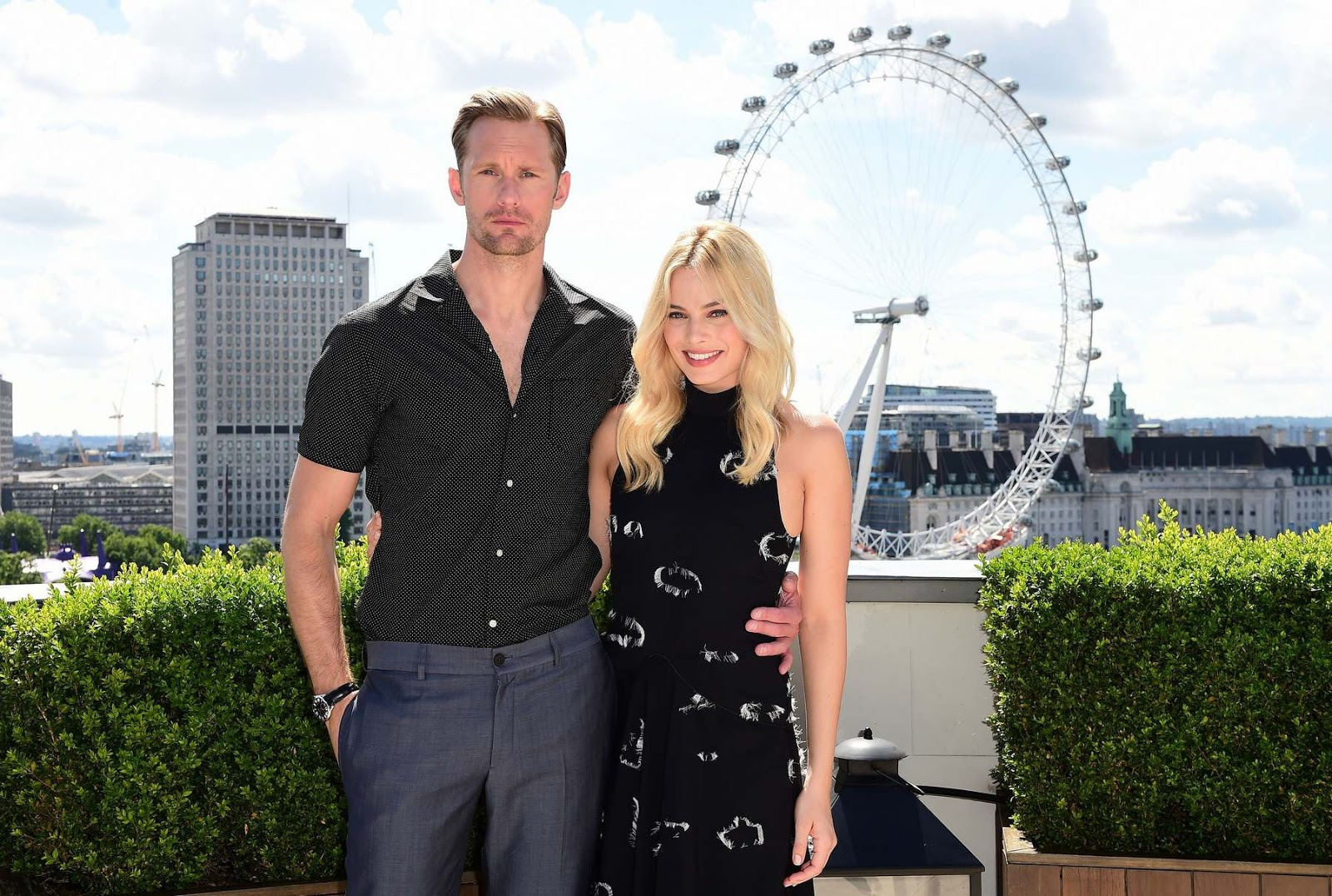 Margot Robbie Promotes Legend Tarzan London