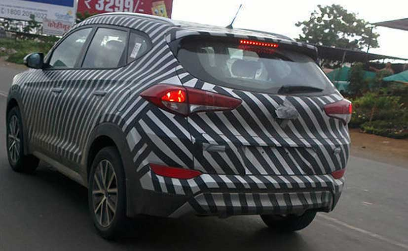 2016 Hyundai Tuscon Spotted Testing Ahead Of Launch Car