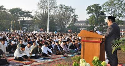 Contoh Teks Pidato Khutbah Singkat Hari Raya Idul Fitri