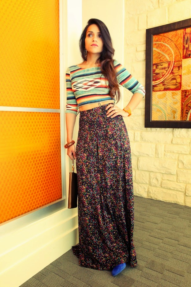 Crop Top, Palazzo Pants, Summer Dressing, Tanvii.com