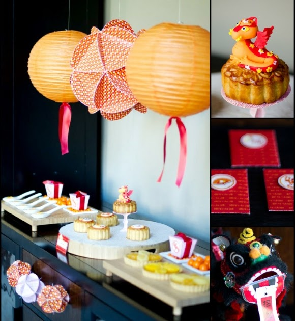 A Chinese Lunar New Year Party - Party Ideas | Party ...