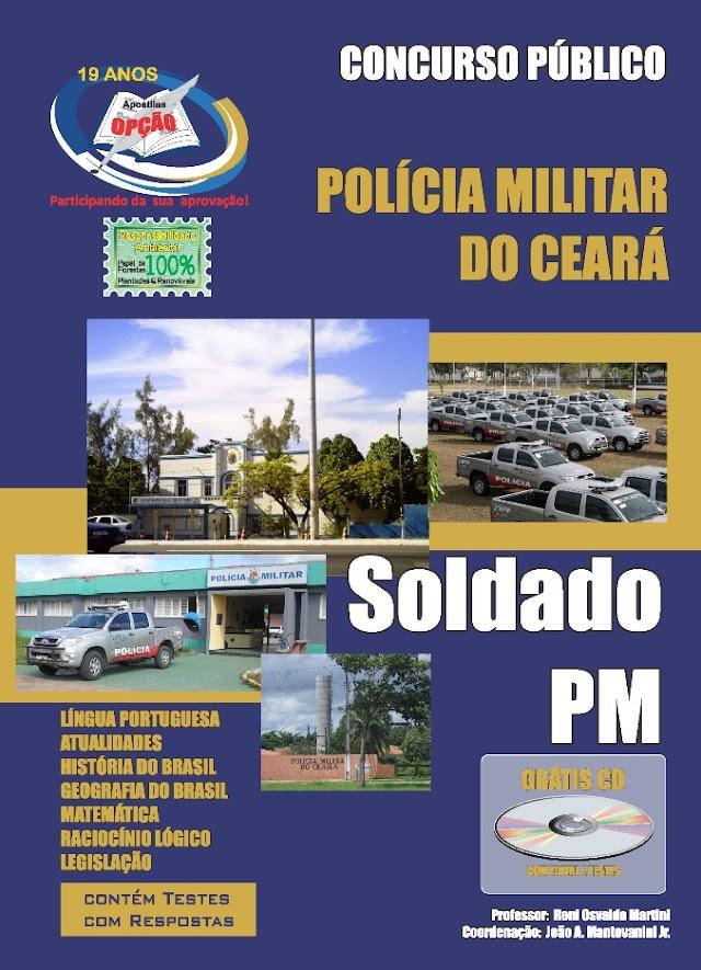 Apostila Polícia Militar do Ceará - PMCE CEARÁ Soldado PM