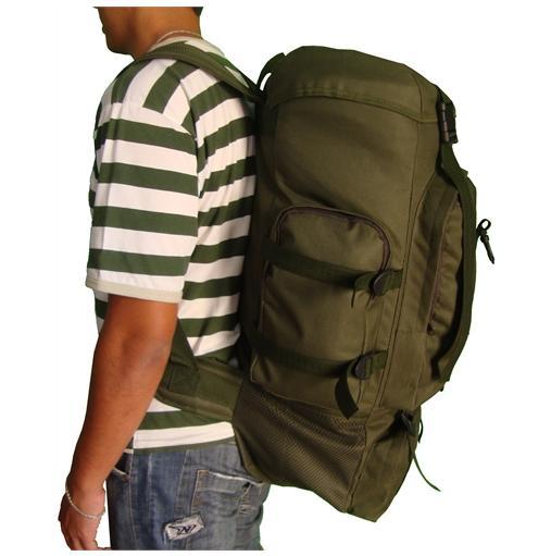 27d16aeac Mochila Verde Preta Camuflada Grande Camping Jumbo Tática Militar: -