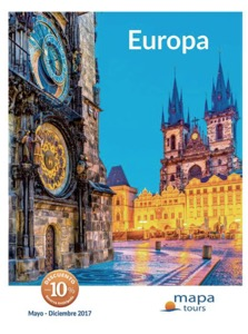 Mapa Tours Circuitos Europa 2017 Verano Invierno