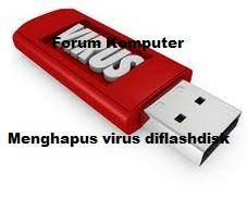 4 Cara Menghapus Virus di Flashdisk Dengan Mudah
