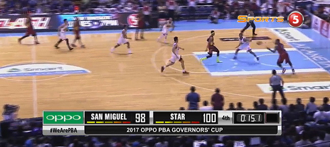 Star Hotshots def. San Miguel,104-98 (REPLAY VIDEO) August 4