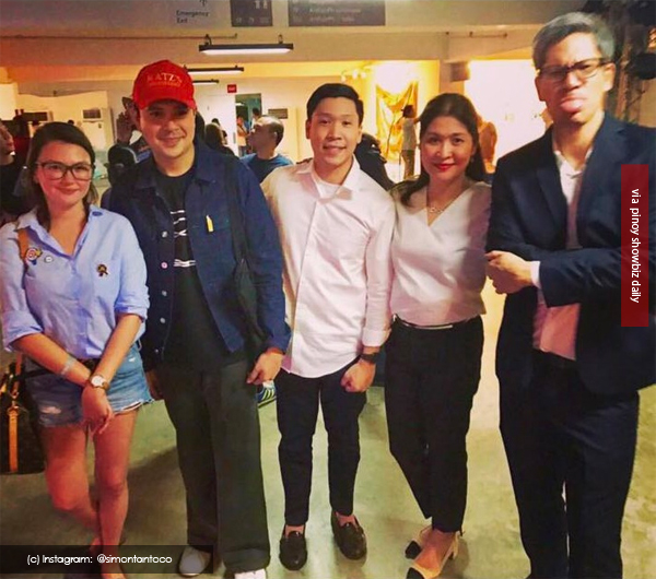Spotted: Angelica Panganiban and John Lloyd Cruz at an Art Fair